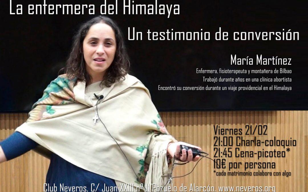 Sesión para padres con María Martín